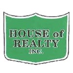 Homes offered by House of Realty, Inc.